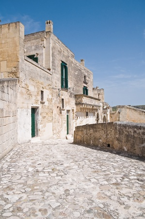 chimney corner: Vista panor�mica de Matera. Basilicata.