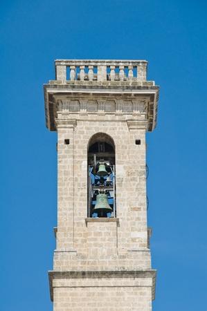 martiri: Basilica della Madonna dei Martiri Belltower. Molfetta. Apulia.