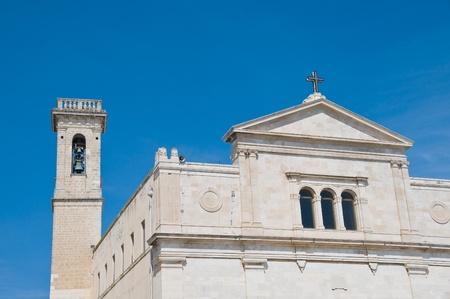 martiri: Basilica della Madonna dei Martiri. Molfetta. Apulia.