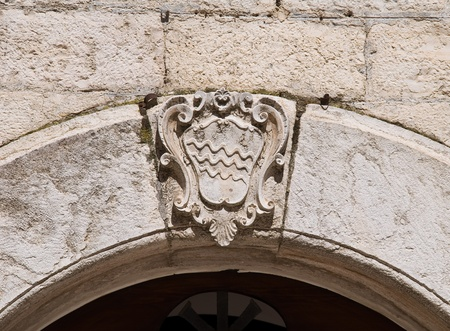 Coat-of-arms. photo