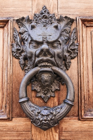 Doorknocker. Stock Photo - 11127218
