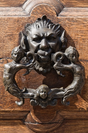 Doorknocker. Stock Photo - 11127240