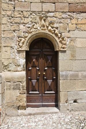 Parish church of Fornovo di Taro. Emilia-Romagna. Italy. Stock Photo - 11127246