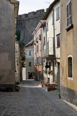 Alleyway. Bardi. Emilia-Romagna. Italy. photo