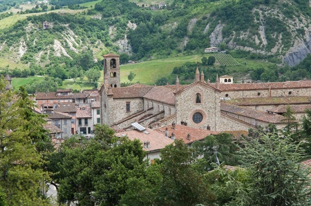 St. Colombano Abbey. Bobbio. Emilia-Romagna. Italy. photo