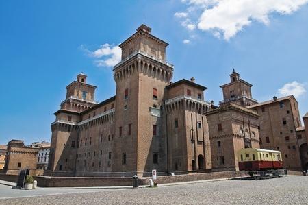 Estense Castle. Ferrara. Emilia-Romagna. Italy. Imagens - 11368586