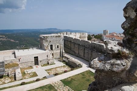 Castle of Monte Sant'Angelo. Puglia. Italy. Stock Photo - 11368760