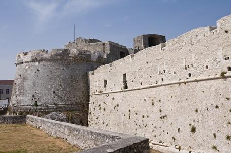 monte sant'angelo: Castle of Monte SantAngelo. Puglia. Italy. Stock Photo