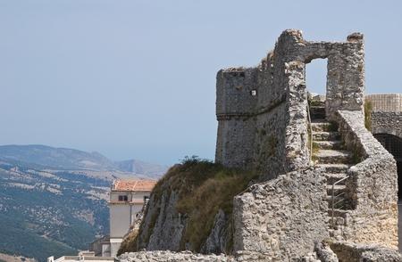 Castle of Monte Santangelo. Puglia. Italy. Stock Photo - 11369761