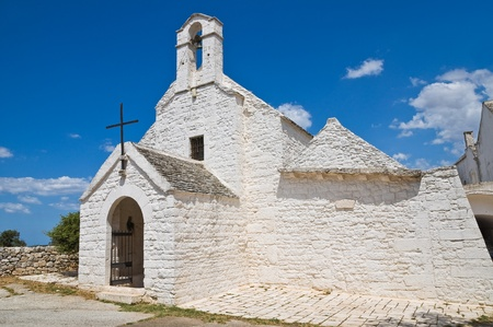 St. Maria di Barsento Church. Noci. Puglia. Italy. photo
