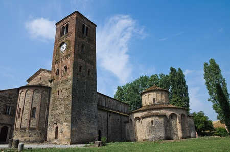 St.Giovanni church. Vigolo Marchese. Emilia-Romagna. Italy. photo