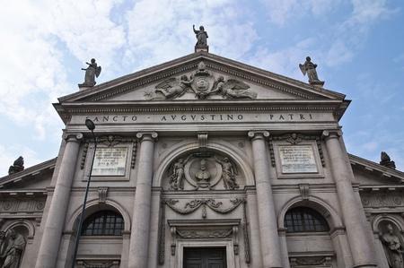 piacenza: St. Agostino church. Piacenza. Emilia-Romagna. Italy.