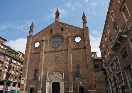 francesco: St. Francesco church. Piacenza. Emilia-Romagna. Italy.