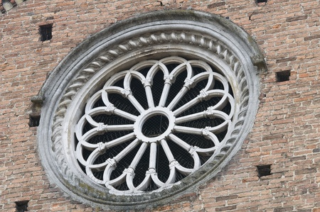 Rose window. photo