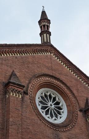 piacenza: Santa Br�gida iglesia. Piacenza. Emilia-Roma�a. Italia.
