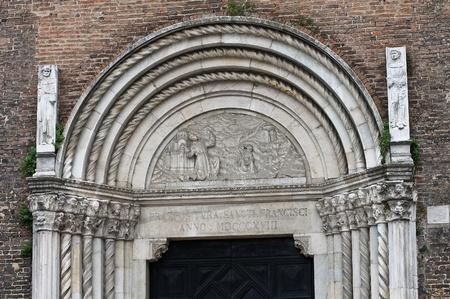 St. Francesco church. Piacenza. Emilia-Romagna. Italy. Stock Photo - 11910790