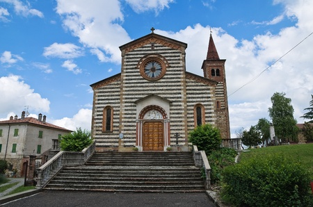St. Savino church. Rezzanello. Emilia-Romagna. Italy. Stock Photo - 11910743