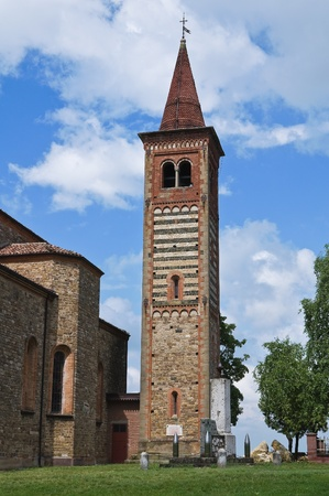 St. Savino church. Rezzanello. Emilia-Romagna. Italy. Stock Photo - 11910753