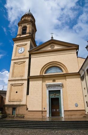 St. Agata Church. Rivergaro. Emilia-Romagna. Italy. Stock Photo - 11910748