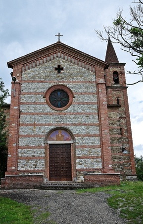 St. Antonio Abate Church. Statto. Emilia-Romagna. Italy. Stock Photo - 11910793