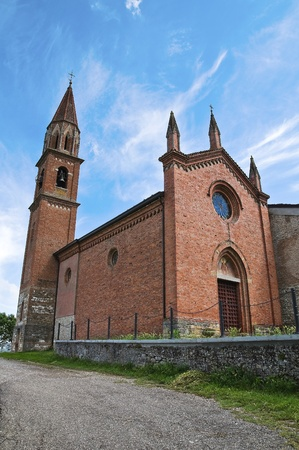 St. Lorenzo Church. Veano. Emilia-Romagna. Italy. Stock Photo - 11910799