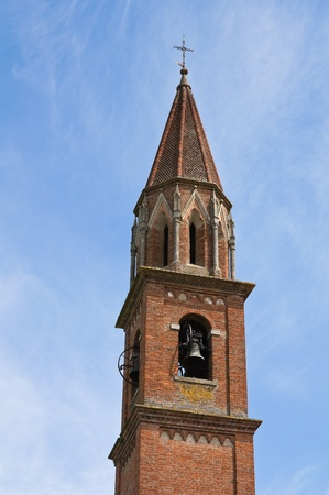 St. Lorenzo Church. Veano. Emilia-Romagna. Italy. Stock Photo - 11910773