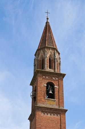 ecclesiastical: St. Lorenzo Church. Veano. Emilia-Romagna. Italy.
