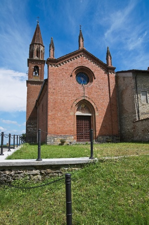 St. Lorenzo Church. Veano. Emilia-Romagna. Italy. Stock Photo - 11910807