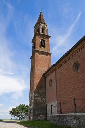 St. Lorenzo Church. Veano. Emilia-Romagna. Italy. Stock Photo - 11910782