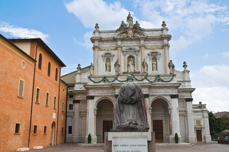 Sanctuary Basilica of Fontanellato. Emilia-Romagna Italy. Stock Photo - 11943395