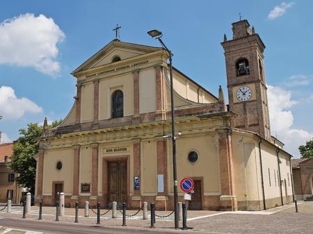 martino: St. Martino Church. Noceto. Emilia-Romagna. Italy.