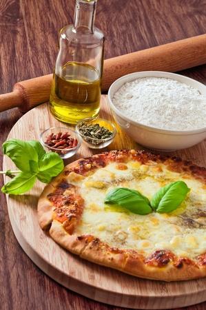 Homemade pizza. Stock Photo - 12037720