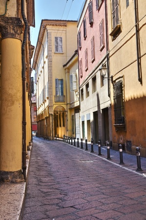 Alleyway. Bologna. Emilia-Romagna. Italy. Stock Photo - 12137699