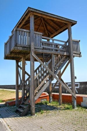 lifeguard tower: Lifeguard tower. Stock Photo