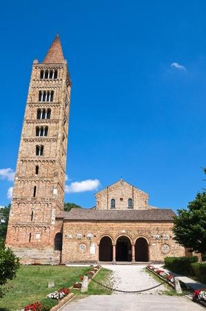 Pomposa Abbey. Codigoro. Emilia-Romagna. Italy. photo
