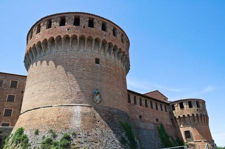 sforza: Sforza castle. Dozza. Emilia-Romagna. Italy.