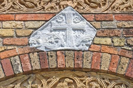 ecclesiastical: Pomposa Abbey. Codigoro. Emilia-Romagna. Italy. Stock Photo