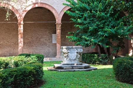 oratoria: Oratorio de St.Anna. Ferrara. Emilia-Roma�a. Italia. Foto de archivo