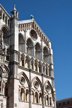 ecclesiastical: Cathedral of St. George. Ferrara. Emilia-Romagna. Italy.