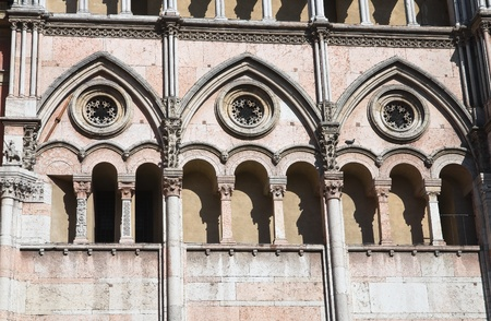 Cathedral of St. George. Ferrara. Emilia-Romagna. Italy. photo
