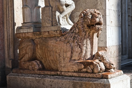 Cathedral of St. George. Ferrara. Emilia-Romagna. Italy. Stock Photo - 12394533