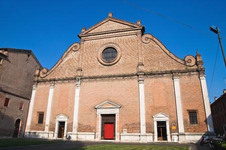 St. Francesco Church. Ferrara. Emilia-Romagna. Italy. Stock Photo - 12394547