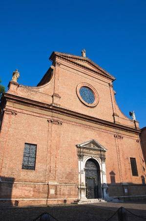 St. Maria in Vado Church. Ferrara. Emilia-Romagna. Italy. Stock Photo - 12394548