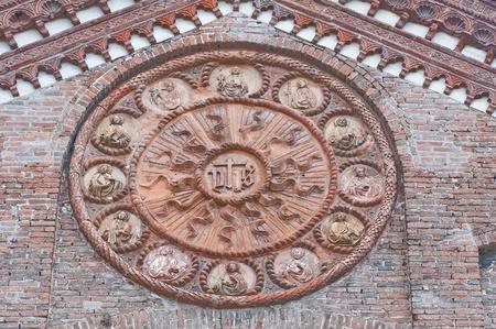 Church of St. Stefano. Ferrara. Emilia-Romagna. Italy. photo