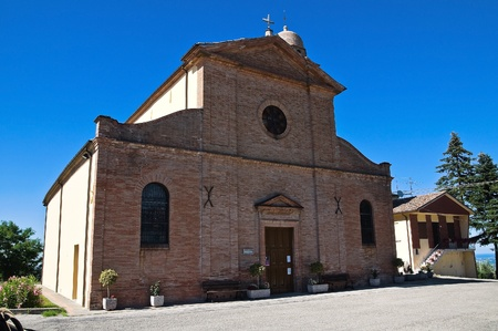 St. Vicinio Church. Torriana. Emilia-Romagna. Italy. Stock Photo - 12394610