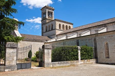 ecclesiastical: Madonna della Scala Abbey. Noci. Puglia. Italy. Stock Photo