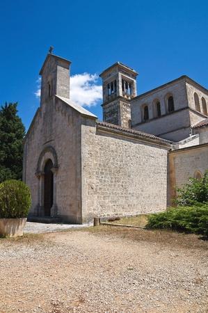 scala: Madonna della Scala Abbey. Noci. Puglia. Italy. Stock Photo