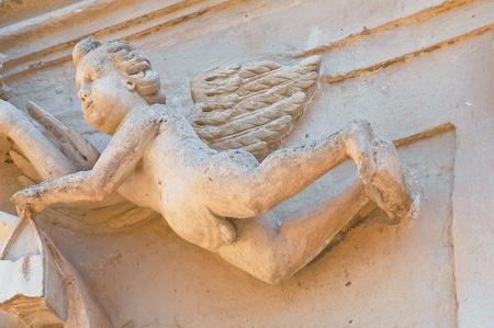 carmine: Chiesa del Carmine. Grottaglie. Puglia. L'Italia. Archivio Fotografico