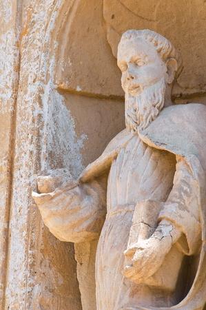 carmine: Church of Carmine. Grottaglie. Puglia. Italy. Stock Photo