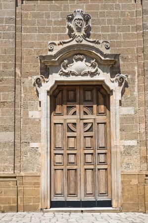 francesco: St. Francesco dAssisi Church. Oria. Puglia. Italy. Stock Photo